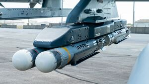 """Golden Horde Vanguars"" mit intelligenten Bomben auf Basis der Small Diameter Bomb (USAF)."