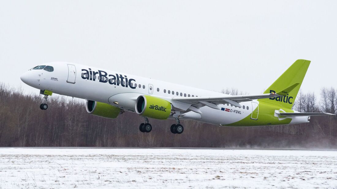 100. Airbus A220 in Mirabel