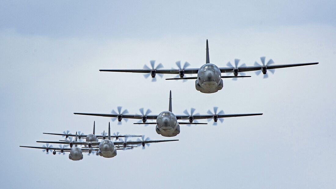 20th Anniversary of C-130J Operations