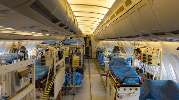 A310 MRTT der Luftwaffe - Inentsivmedizin-Ausstattung