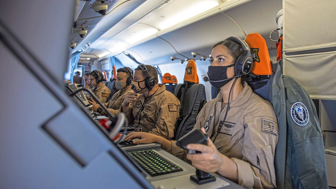 AWO2 Marcano Conducts Flight OPS