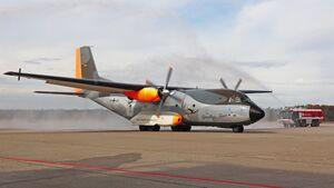 Abschied Transportflugzeug Transall C-160