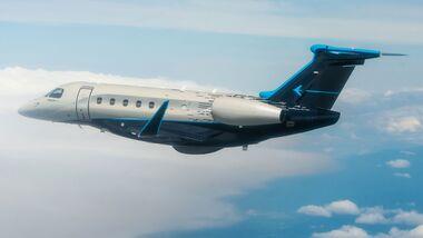 Aerodata baut eine Embraer Praetor 600 in ein Fluginspektionsflugzeug für Südkorea um.