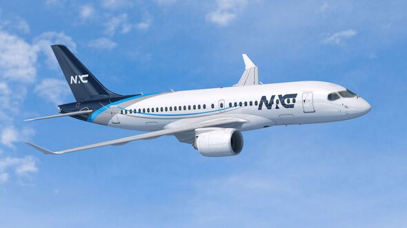 Airbus A220-100 für NAC.