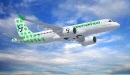 Airbus A220-300 für Green Africa Airways.