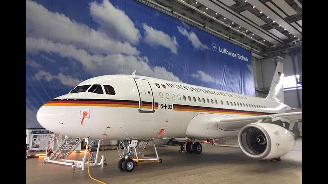 Airbus A319 Open Skies der Luftwaffe