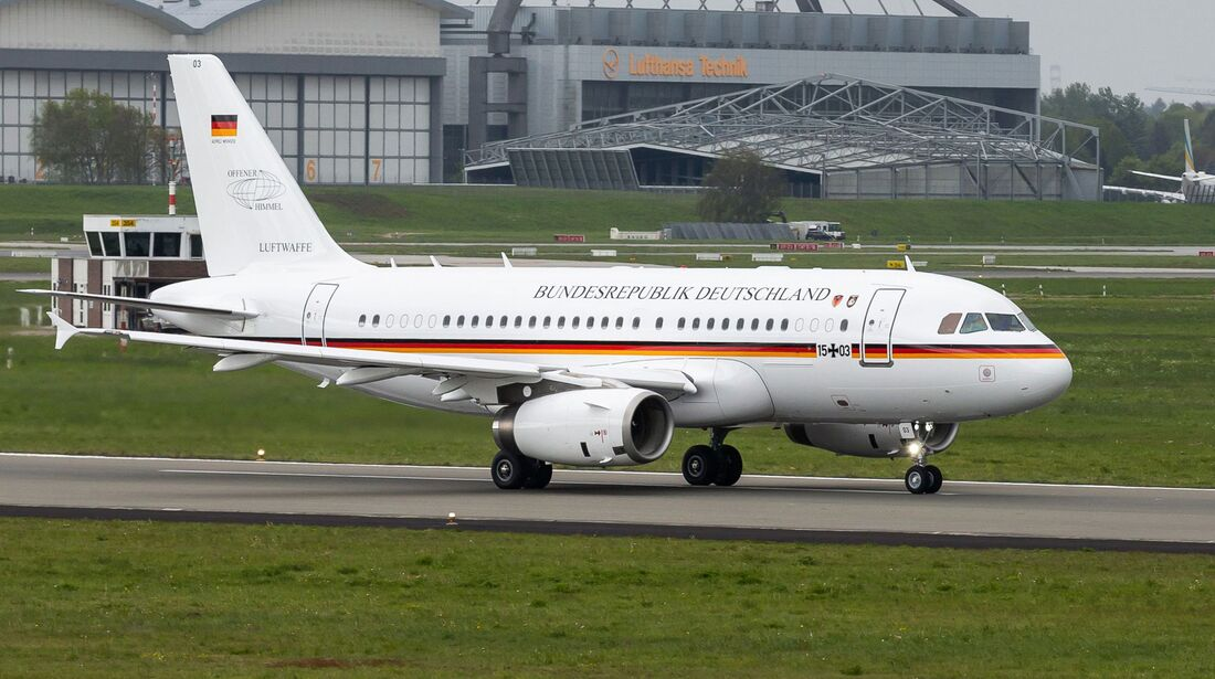 Airbus A319 Open Skies der Luftwaffe