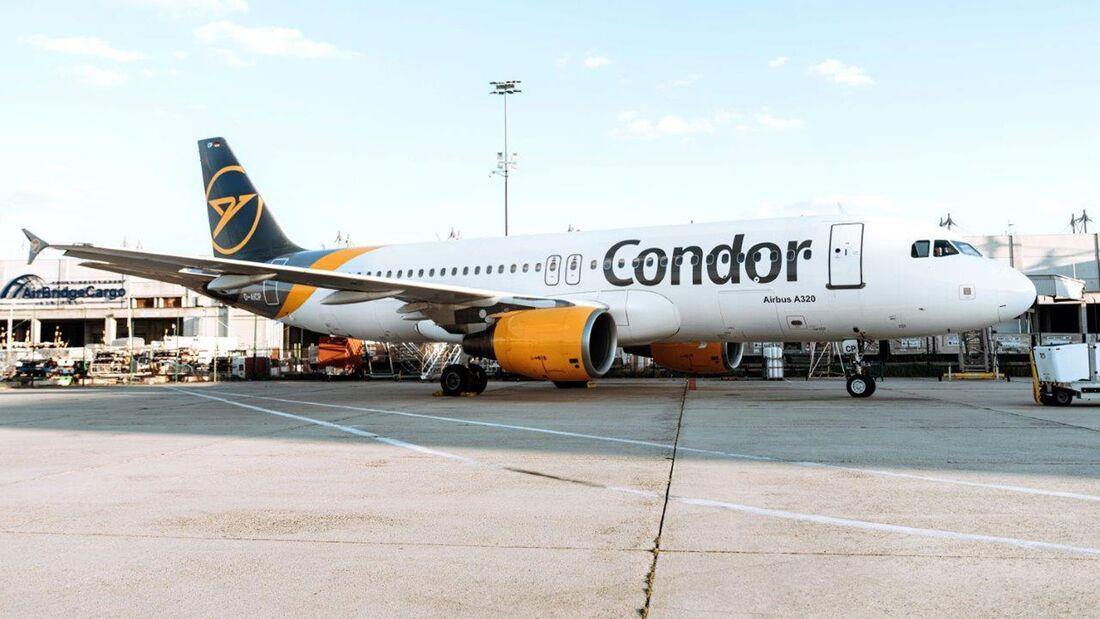Airbus A320 der Condor.