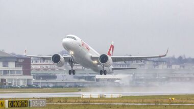 Airbus A320neo für Swiss.
