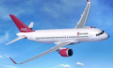 Airbus A320neo von BOC Aviation.