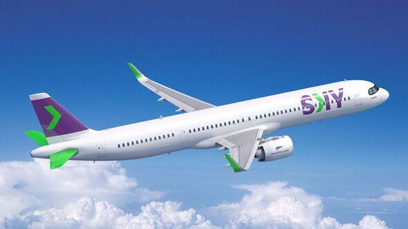 Airbus A321XLR für SKY aus Chile.