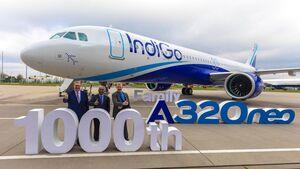 Airbus A321neo für IndoGo.