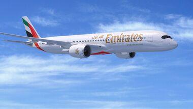 Airbus A350-900 von Emirates