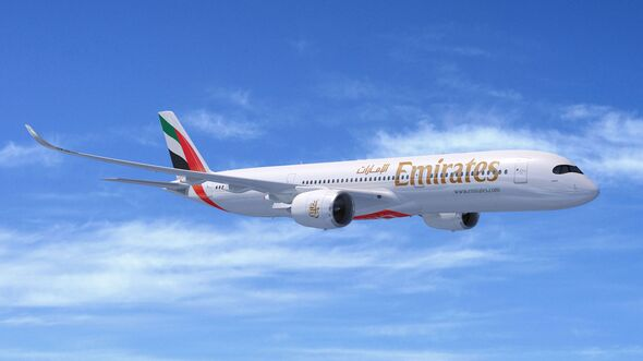 Airbus A350 für Emirates.