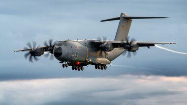 Airbus A400M-Transporter waren zuletzt bei der Afghanistan-Evakuierung im Einsatz.