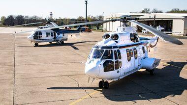 Airbus Helicopters AS 532 Cougar der Flugbereitschaft der Bundeswehr.