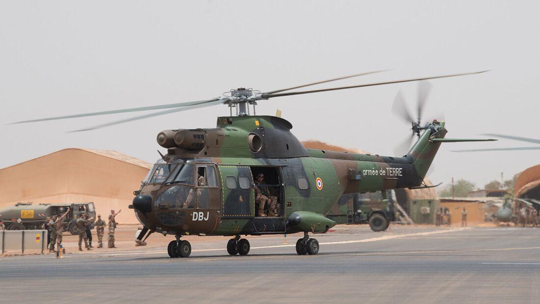 Airbus Helicopters Cougar der französischen Heeresflieger in Mali.