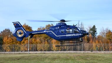 Airbus Helicopters EC135 der Bundespolizei.