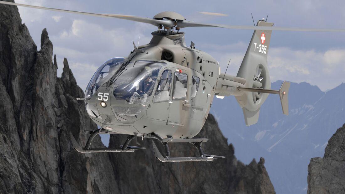 Airbus Helicopters EC635 der Schweizer Luftwaffe.
