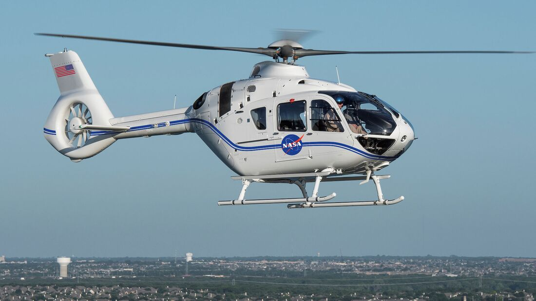 Airbus Helicopters H135 für die NASA.