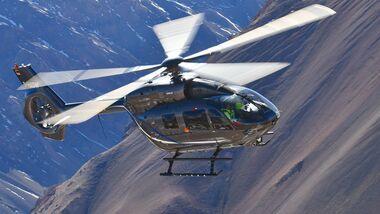 Airbus Helicopters H145 mit Fünfblattrotor.