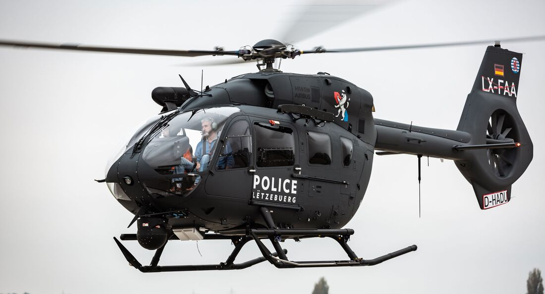 Airbus Helicopters H145M für Luxemburg.