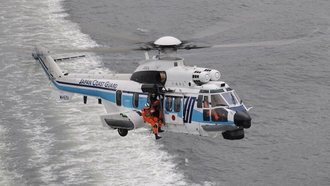 Airbus Helicopters H225 der Japan Coast Guard.