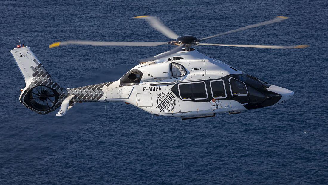 Airbus Helicopters hat die Zulassung für den neuen H160 von der EASA erhalten.