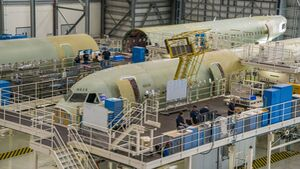 Airbus-Werk in Mobile, Alabama.
