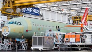 Airbus baut in Toulouse eine neue A320/A321-Endmontagelinie nach modernen Grundsätzen.