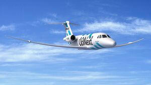 Airbus will einen extra leistungsstarken Flügel bis Mitte der 2020er Jahre an einer Citation VIII testen.