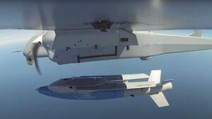 Aksungur, die MALE-Drohne von Turkish Aerospace, hat erstmals die Gleitbombe KGK-SIHA-82 abgeworfen, die ein 30 Kilometer entferntes Ziel traf.