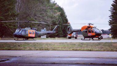 Am 12. April 2021 übernahm auch auf der SAR-Station Holzdorf die H145 LUH SAR den Dienst von der Bell UH-1D, die im Laufe des Jahres ausgemustert wird.