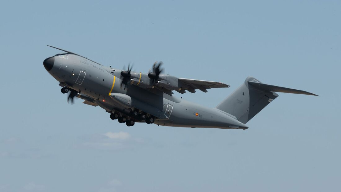 Am 24. Mai 2021 lieferte Airbus den 100. A400M aus. Er ging an die Ejercito del Aire.