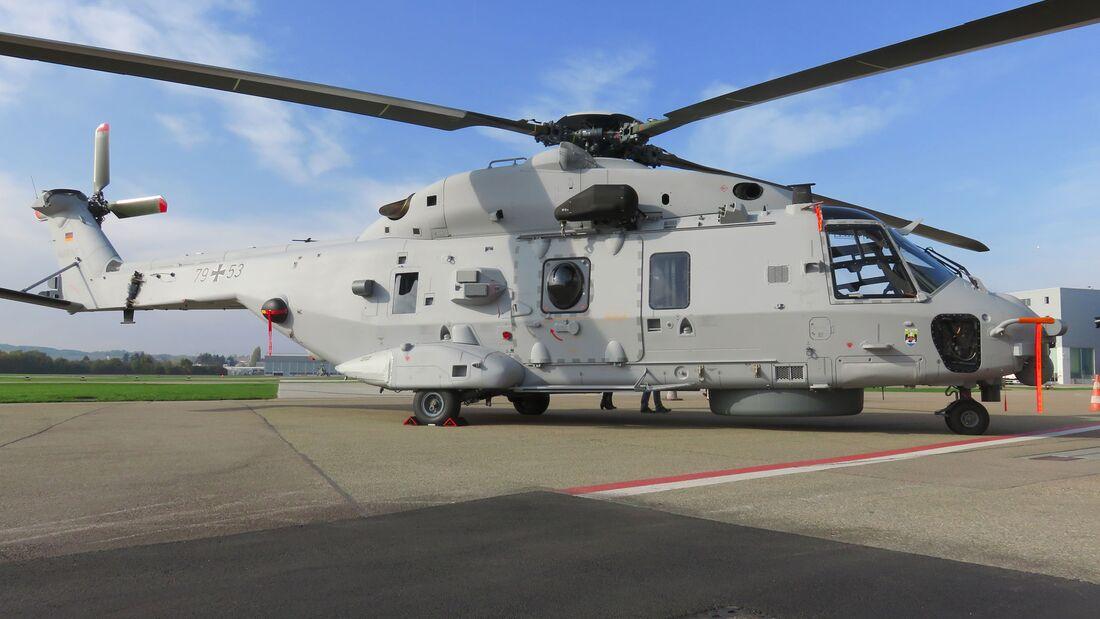 Am 24. Oktober 2019 wurde der erste Sea Lion für die Marineflieger an das Beschaffungsamt übergeben.
