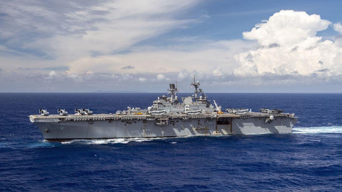 America Amphibious Ready Group transits the Philippine Sea