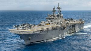 America Amphibious Ready Group transits the Philippine Sea