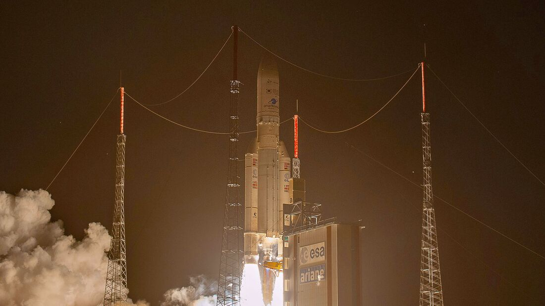 Ariane-5-Start am 18. Februar 2020 in Kourou.