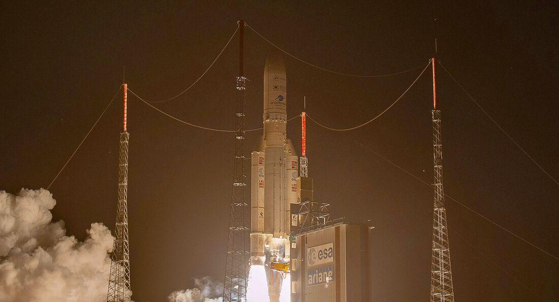 Ariane-5-Start am 18. Februar 2020 in Kourou.