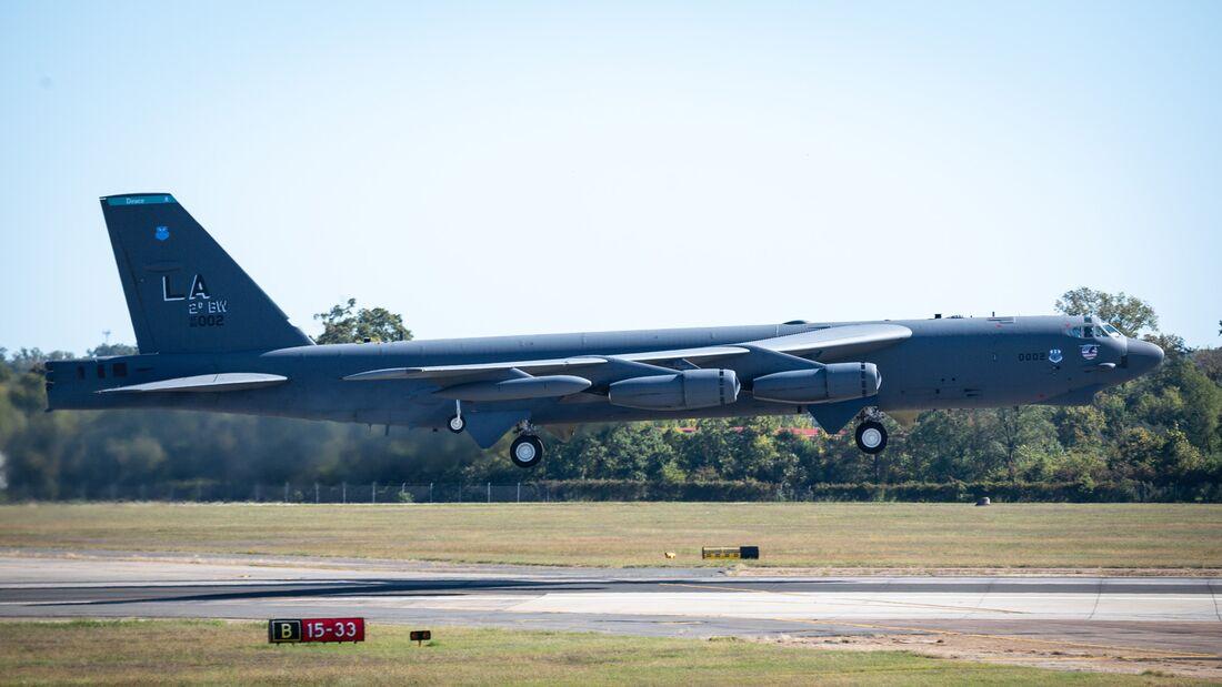 B-52 elephant walk
