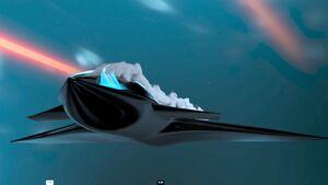 BAE Systems arbeitet für die DARPA an Konzepten, Kampfflugzeuge über die Beeinflussung der Strömung zu steuern.