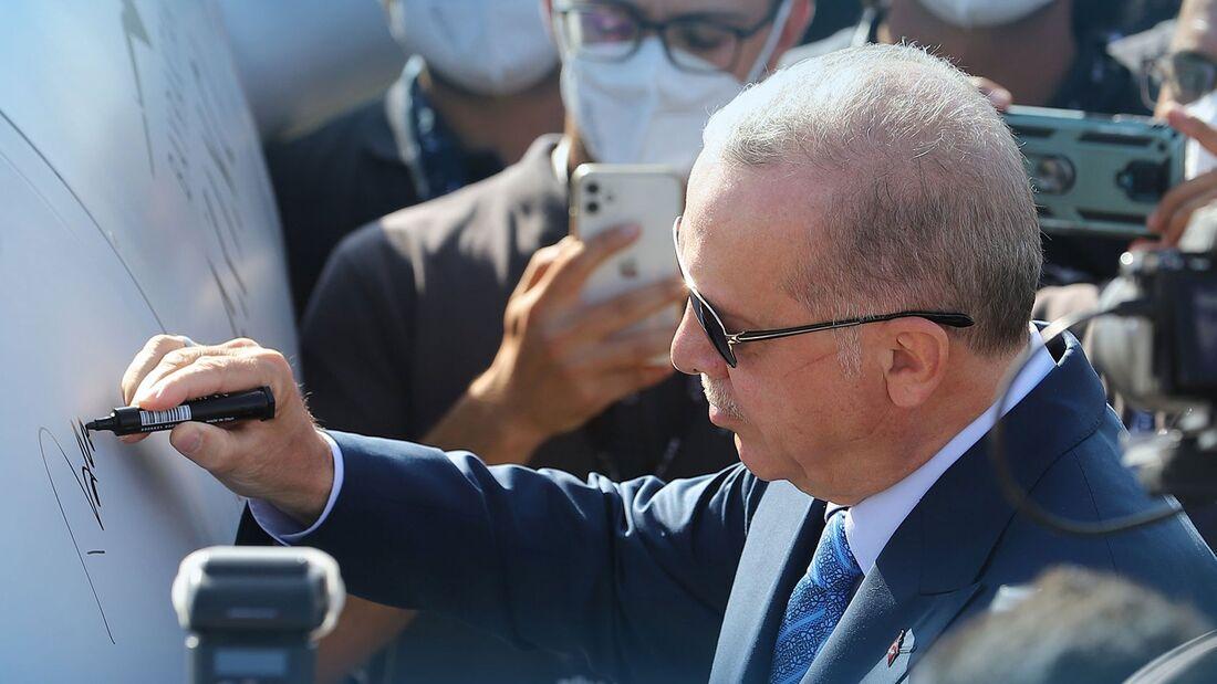 Bayraktar Akinci UCAV von Baykar aus der Türkei.