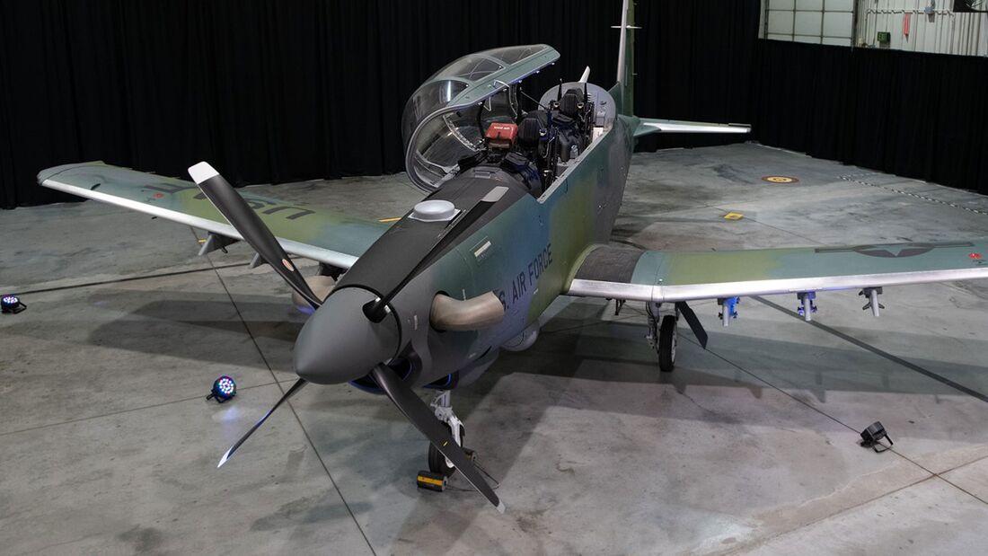 Beechcraft AT-6E Wolverine - erstes Flugzeug für die US Air Force.