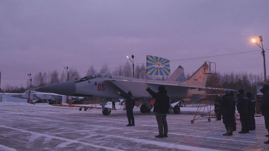 Bei Sokol in Nischni-Nowgorod wurden MiG-31 für die russische Kriegsmarine modernisiert.