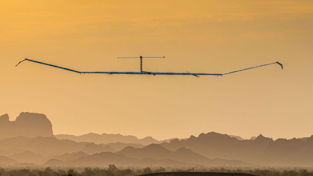 Bei einer Testkampagne in den USA war Zephyr 18 Tage am Stück in der Stratosphäre.
