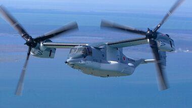 Bell Boeing MV-22B Osprey der Japan Ground Self Defence Force beim Training in den USA.