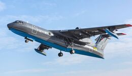 Berijew Be-200TschS für die russische Marine.