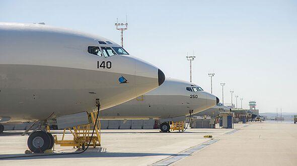 Boeing 707 Re´em der israelischen Luftstreitkräfte in Nevatim.