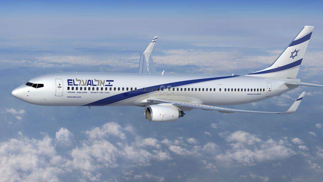 Boeing 737-900 der El Al.