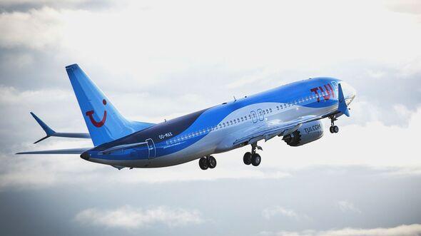 Boeing 737 MAX der TUI.